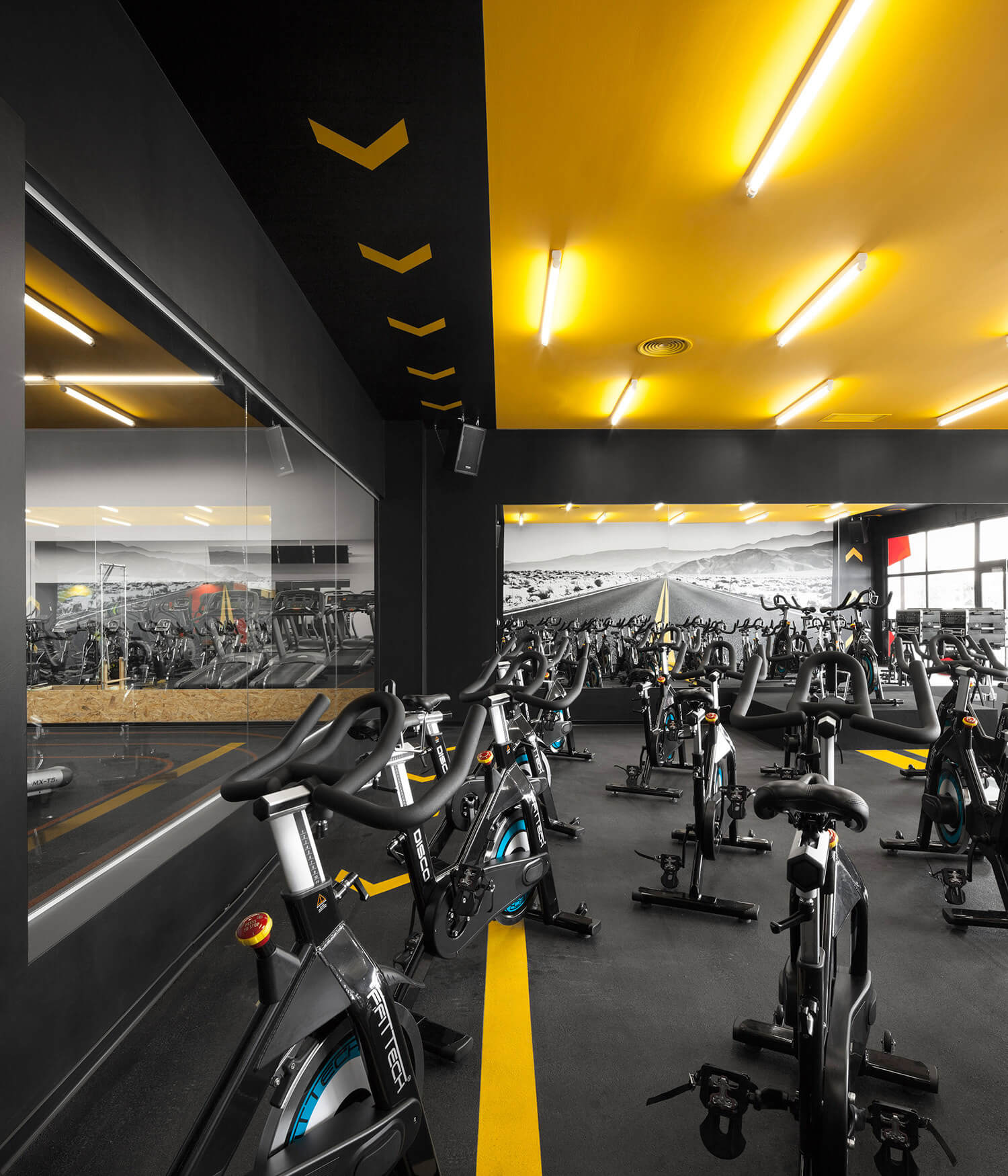 Gym Interior Fitness Design And: The First Concept Gym